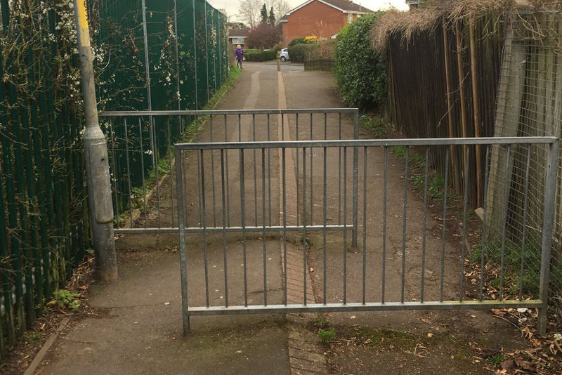 Nunnery Wood Primary barrier