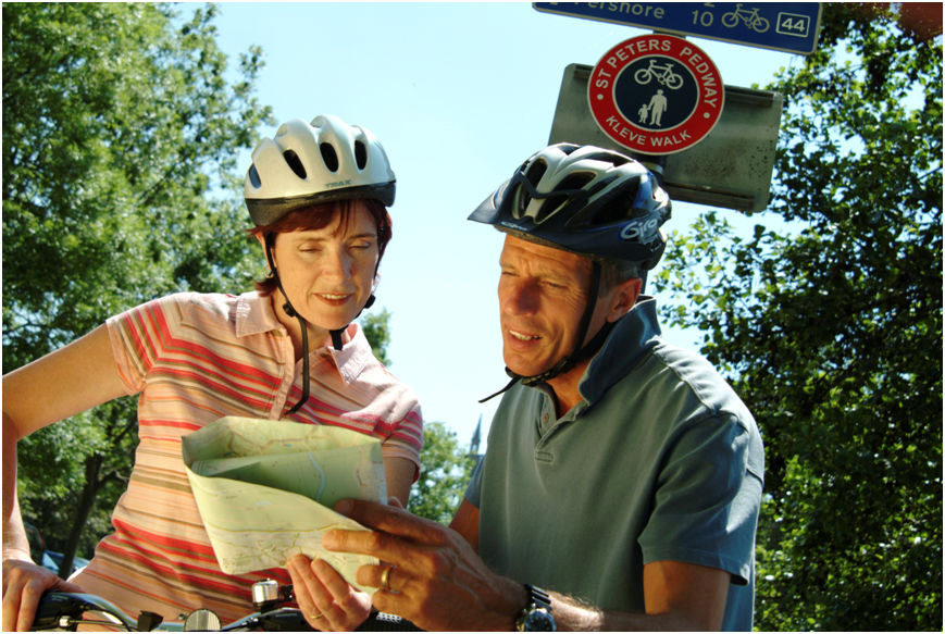 Signed Local Cycle Routes