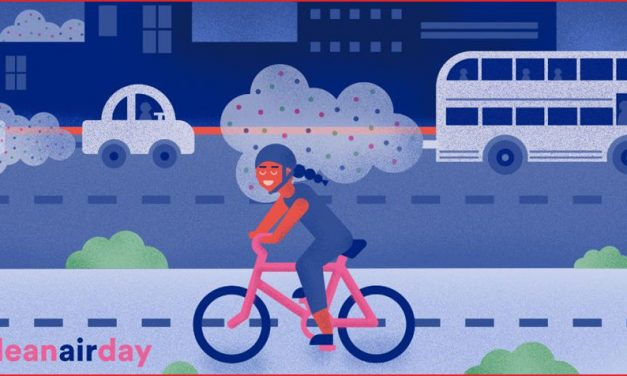 Cleaner air for cyclists