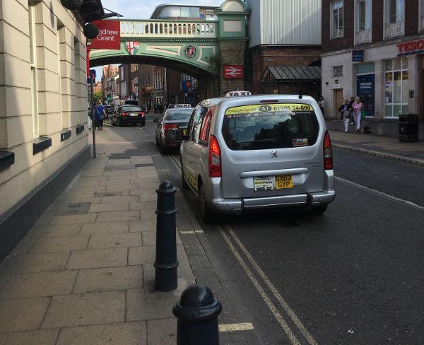 Foregate Street parking
