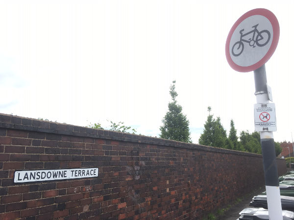Lansdowne Terrace sign