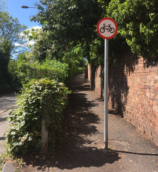 Share with care - London Road to Silverdale Ave