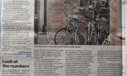 Cycle coverage in the local press