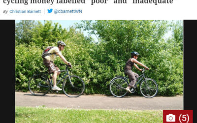 Coverage of cycling in local and national media